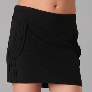 Diane Von Furstenberg DVF Plateau Mini Skirt